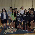 1ºencuentro de badminton