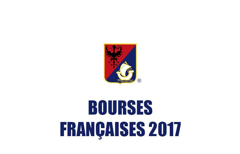 BOURSES FRANÇAISES 2017_
