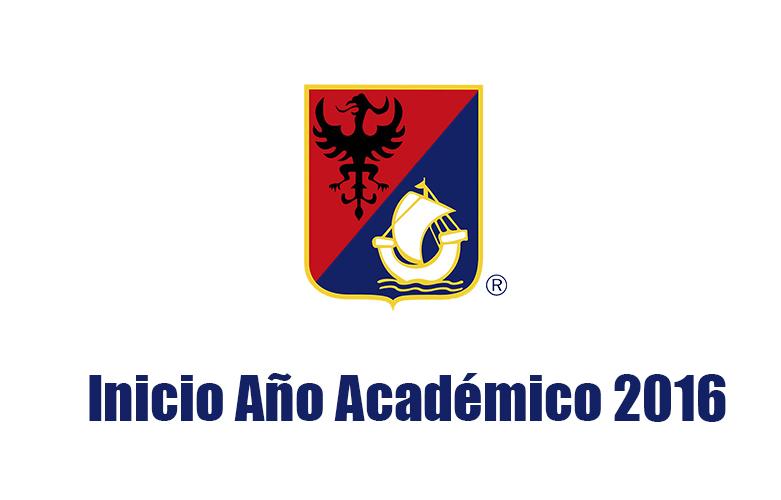 Inicio Año Académico 2016