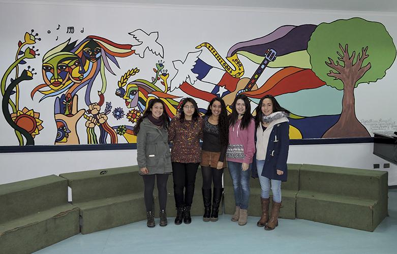 Mural Sala de Instrumentos