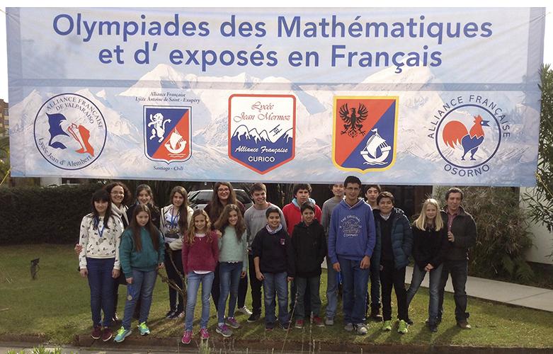 Olimpiadas de matemáticas y exposés curicó 2016