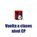 Vuelta a clases CP